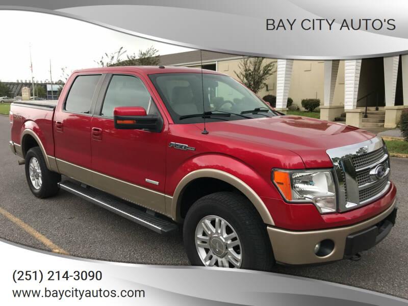 2012 Ford F-150 for sale at Bay City Auto's in Mobile AL