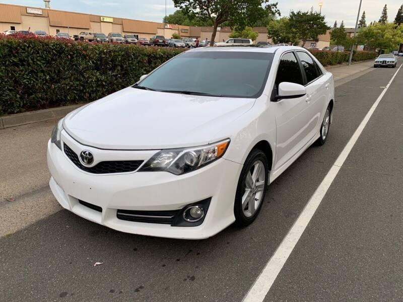 2012 Toyota Camry for sale at LG Auto Sales in Rancho Cordova CA