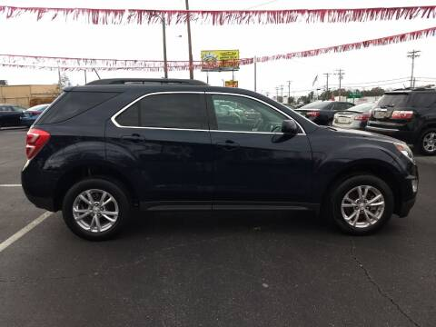 2017 Chevrolet Equinox for sale at Kenny's Auto Sales Inc. in Lowell NC