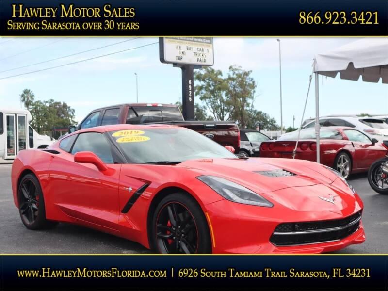 2019 Chevrolet Corvette for sale at Hawley Motor Sales in Sarasota FL
