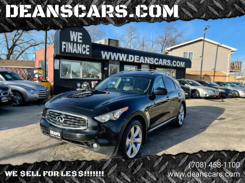 2010 Infiniti FX50 for sale at DEANSCARS.COM in Bridgeview IL