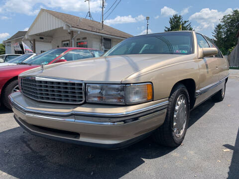 1996 Cadillac DeVille for sale at Waltz Sales LLC in Gap PA