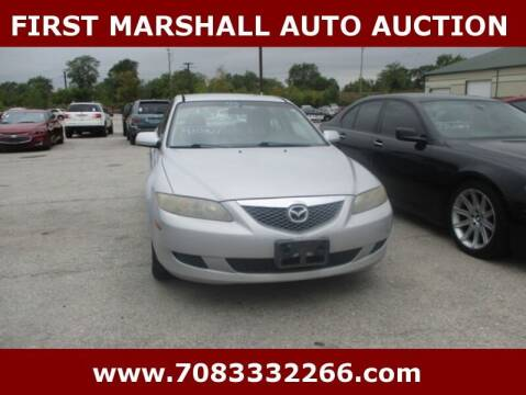 2003 Mazda MAZDA6 for sale at First Marshall Auto Auction in Harvey IL