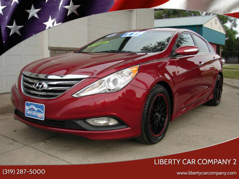 2014 Hyundai Sonata for sale at Liberty Car Company - II in Waterloo IA