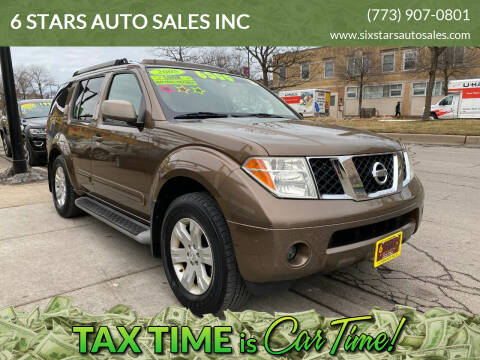 2005 Nissan Pathfinder for sale at 6 STARS AUTO SALES INC in Chicago IL