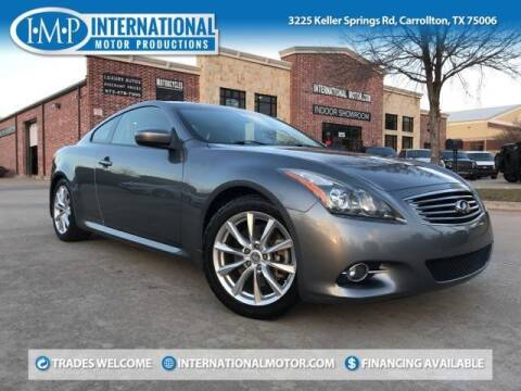 2013 Infiniti G37 Coupe for sale at International Motor Productions in Carrollton TX