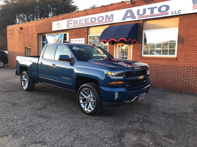 2017 Chevrolet Silverado 1500 for sale at FREEDOM AUTO LLC in Wilkesboro NC