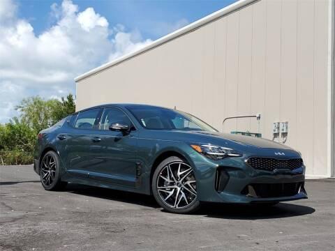 2022 Kia Stinger for sale at PHIL SMITH AUTOMOTIVE GROUP - Toyota Kia of Vero Beach in Vero Beach FL