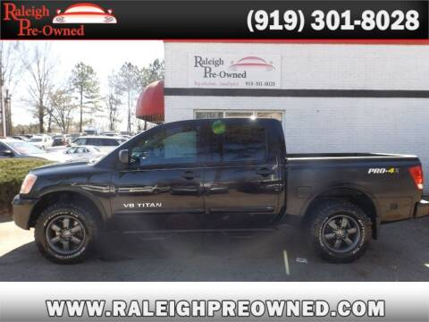 2013 Nissan Titan for sale at Raleigh Pre-Owned in Raleigh NC