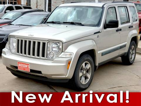 2008 Jeep Liberty for sale at Jacksons Car Corner Inc in Hastings NE