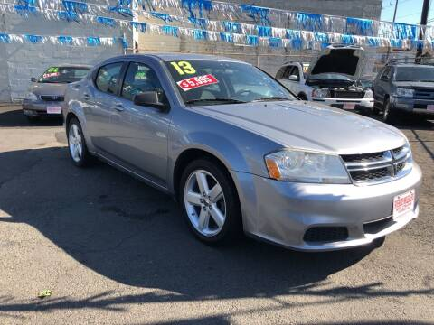 2013 Dodge Avenger for sale at Riverside Wholesalers 2 in Paterson NJ