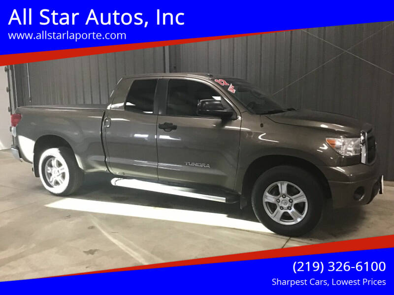 2012 Toyota Tundra for sale at All Star Autos, Inc in La Porte IN