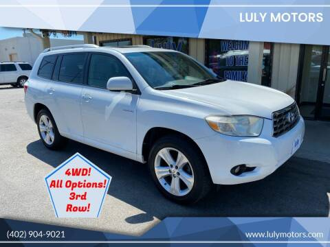 2008 Toyota Highlander for sale at Luly Motors in Lincoln NE