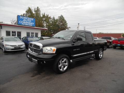 2006 Dodge Ram Pickup 1500 for sale at Surfside Auto Company in Norfolk VA