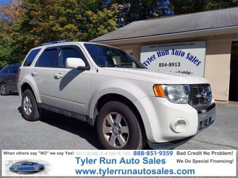 2010 Ford Escape for sale at Tyler Run Auto Sales in York PA