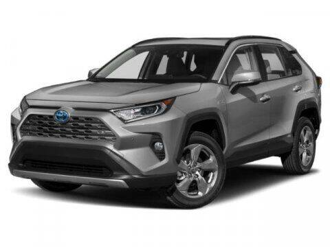 2021 Toyota RAV4 Hybrid for sale at Crown Automotive of Lawrence Kansas in Lawrence KS