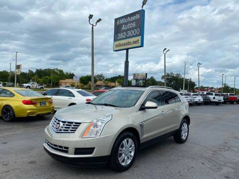 2014 Cadillac SRX for sale at Michaels Autos in Orlando FL