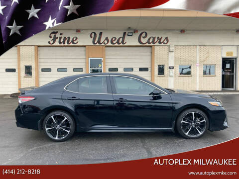 2018 Toyota Camry for sale at Autoplex 2 in Milwaukee WI