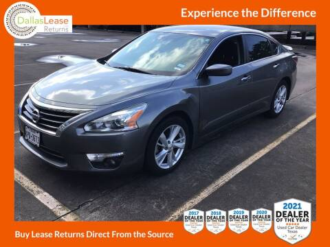 2015 Nissan Altima for sale at Dallas Auto Finance in Dallas TX