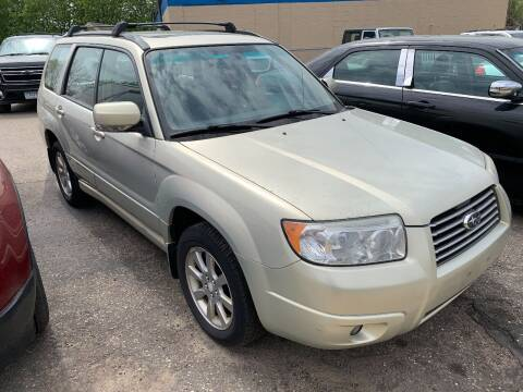 2007 Subaru Forester for sale at BEAR CREEK AUTO SALES in Rochester MN