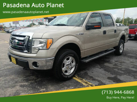 2010 Ford F-150 for sale at Pasadena Auto Planet in Houston TX