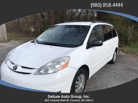 2009 Toyota Sienna for sale at Deluxe Auto Group Inc in Conover NC