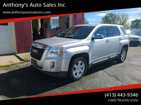 2013 GMC Terrain for sale at Anthony's Auto Sales Inc in Pittsfield MA