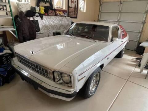 1976 Chevrolet Nova for sale at Classic Car Deals in Cadillac MI