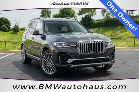 2019 BMW X7 for sale at Autohaus Group of St. Louis MO - 3015 South Hanley Road Lot in Saint Louis MO