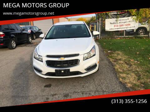 2017 Chevrolet Cruze for sale at MEGA MOTORS GROUP in Redford MI