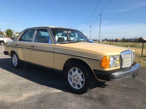 1982 Mercedes-Benz 240-Class for sale at Pool Auto Sales in Hayden ID