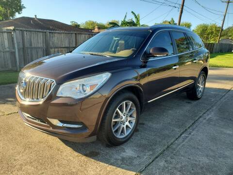 2015 Buick Enclave for sale at MOTORSPORTS IMPORTS in Houston TX