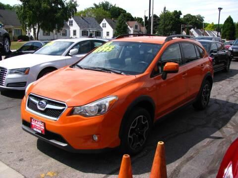 2013 Subaru XV Crosstrek for sale at CLASSIC MOTOR CARS in West Allis WI