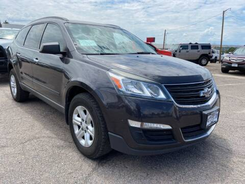2013 Chevrolet Traverse for sale at BERKENKOTTER MOTORS in Brighton CO