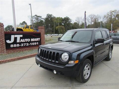 2016 Jeep Patriot for sale at J T Auto Group in Sanford NC