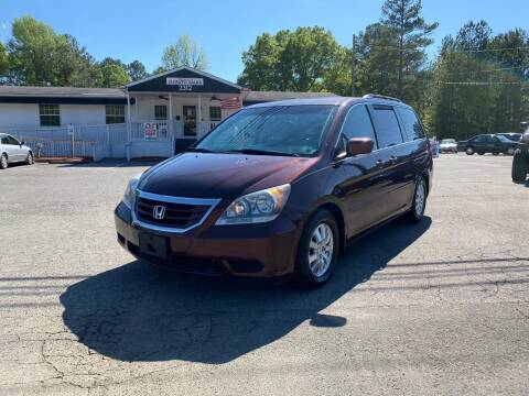 2009 Honda Odyssey for sale at CVC AUTO SALES in Durham NC