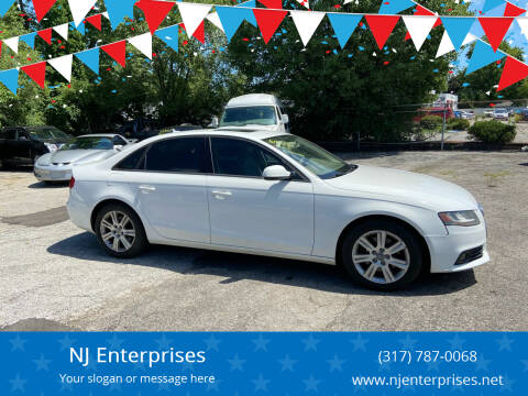 2010 Audi A4 for sale at NJ Enterprises in Indianapolis IN