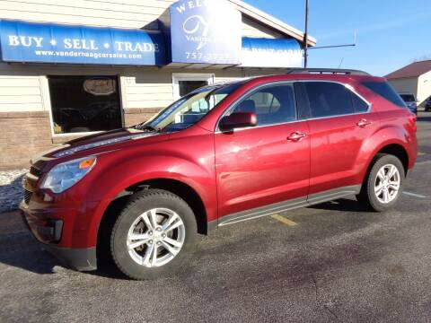 2012 Chevrolet Equinox for sale at VanderHaag Car Sales LLC in Scottville MI