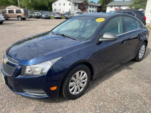 2011 Chevrolet Cruze for sale at CHRISTIAN AUTO SALES in Anoka MN