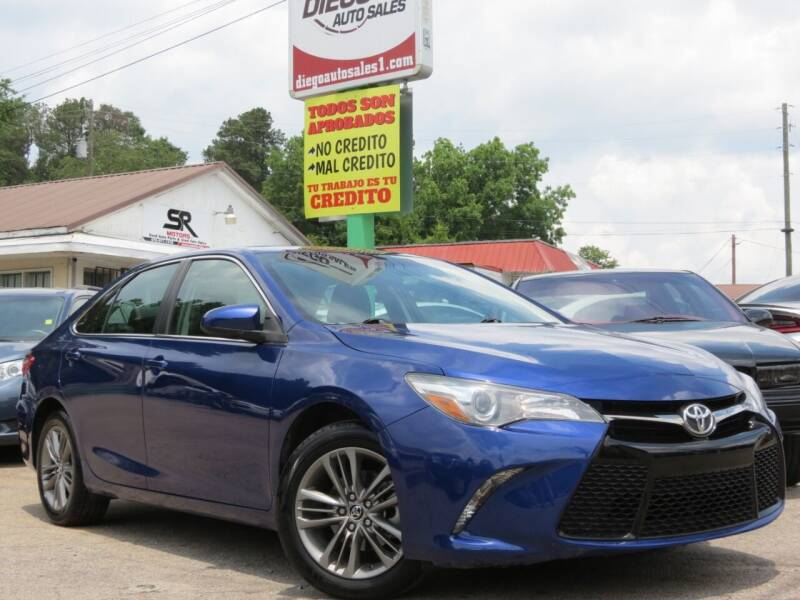 2015 Toyota Camry for sale at Diego Auto Sales #1 in Gainesville GA