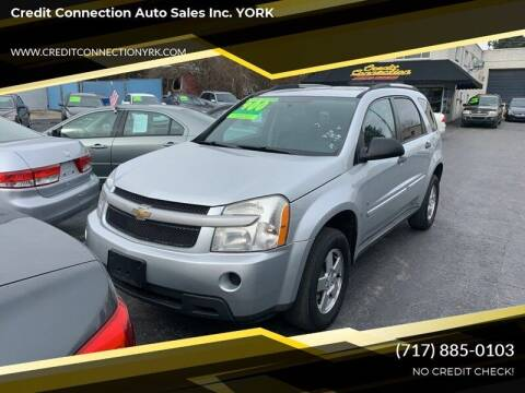 2009 Chevrolet Equinox for sale at Credit Connection Auto Sales Inc. YORK in York PA
