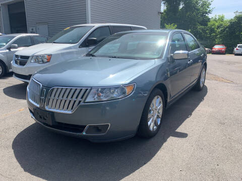 2012 Lincoln MKZ for sale at Manchester Auto Sales in Manchester CT