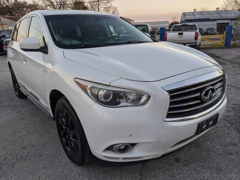 2013 Infiniti JX35 for sale at PREMIER MOTORS OF PEARLAND in Pearland TX