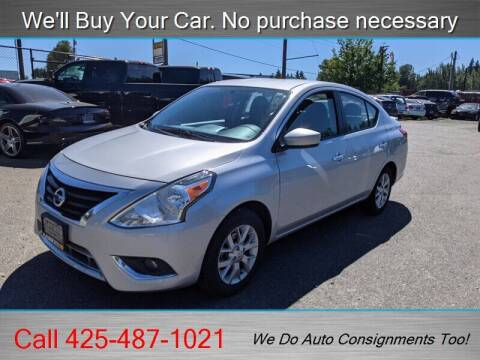 2018 Nissan Versa for sale at Platinum Autos in Woodinville WA