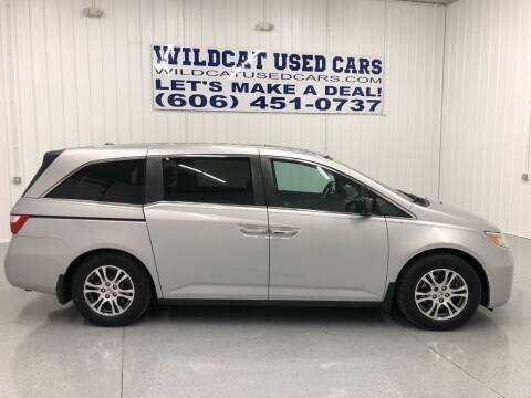 2012 Honda Odyssey for sale at Wildcat Used Cars in Somerset KY