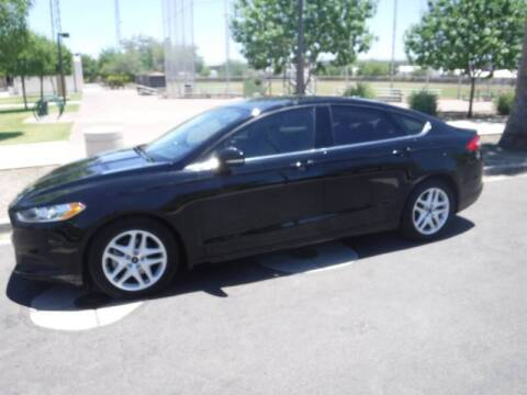 2016 Ford Fusion for sale at J & E Auto Sales in Phoenix AZ