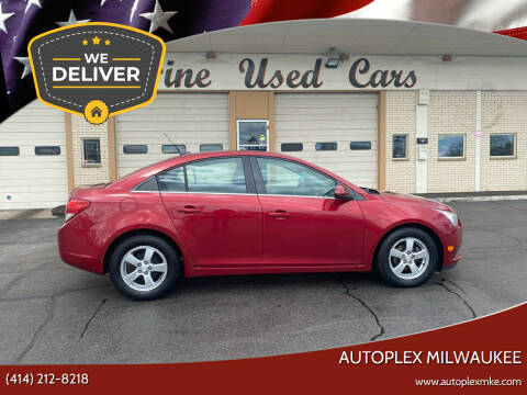 2012 Chevrolet Cruze for sale at Autoplex 3 in Milwaukee WI