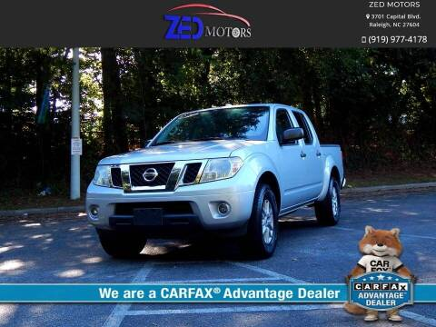 2015 Nissan Frontier for sale at Zed Motors in Raleigh NC