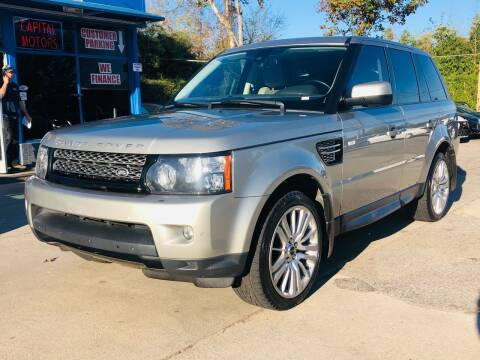 2013 Land Rover Range Rover Sport for sale at Capital Motors in Raleigh NC