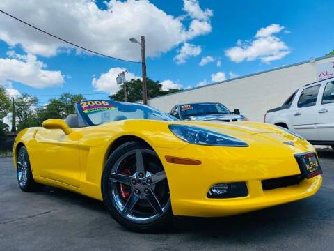 2006 Chevrolet Corvette for sale at Alpha AutoSports in Roseville CA